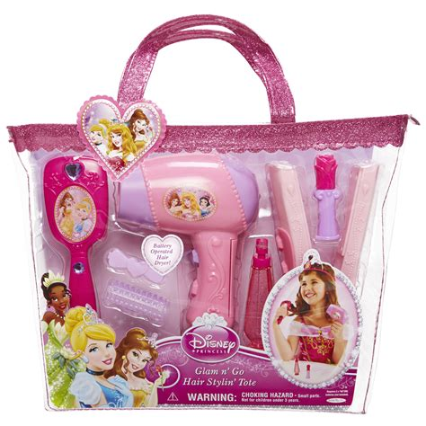 Hair Style Kit Cyty by Disney Hair Styling Tote Disney Princess Toys