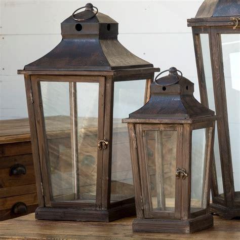 rustic lighting indoor lantern lights antique farmhouse