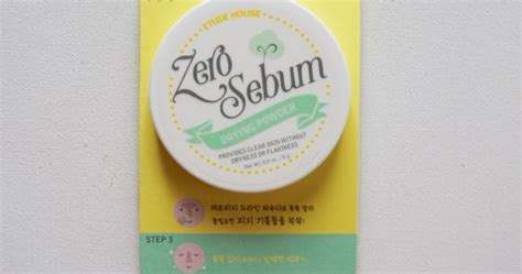 Sale Etude House Zero Sebum Drying Powder etude house zero sebum drying powder review swatch