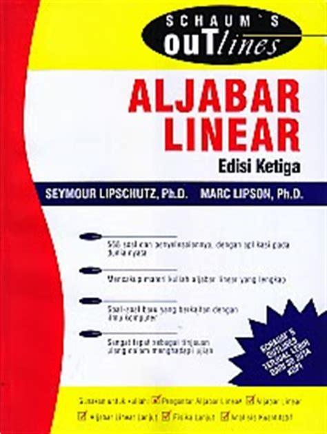 Buku Aljabar Linear Elementer Mapel Buku toko buku rahma aljabar linear edisi ketiga