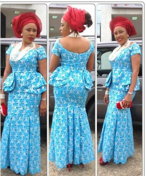 nigerian african lace styles in skirt and top top ten beautiful aso ebi styles for owambe party