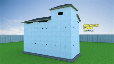 desain gambar sangkar burung desain rumah burung walet 5x12 2 lantai premium youtube