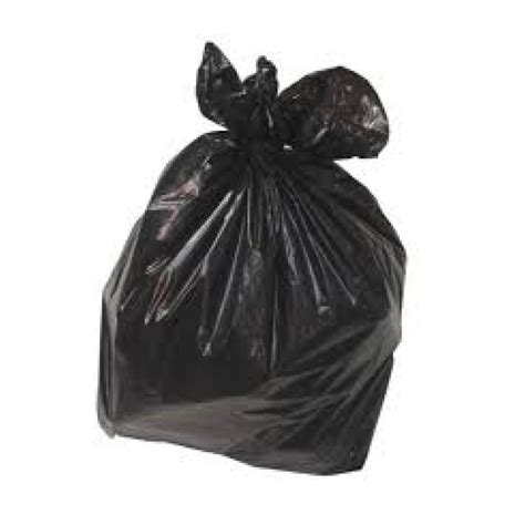 Bin Bag by Black Bin Bags 18 X 33 X 39 Heavy Duty 120 30 Micron