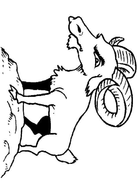 billy goats coloring pages billy goat coloring page az coloring pages