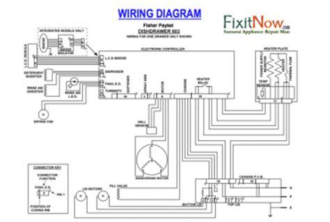 fisher paykel dishwasher parts diagram ge dishwasher wiring diagrams wedocable