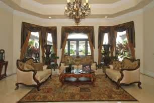 Traditional Living Room Curtains Ideas On Designing Marble Flooring For Living Room