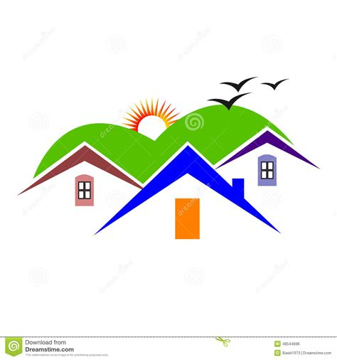 home design stock images home design stock vector image 48544696