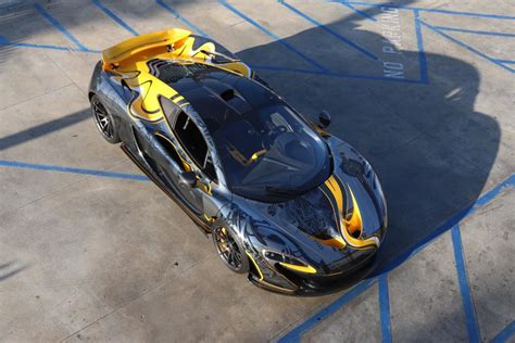 custom mclaren p1 custom wrapped mclaren p1 by stickercity gtspirit