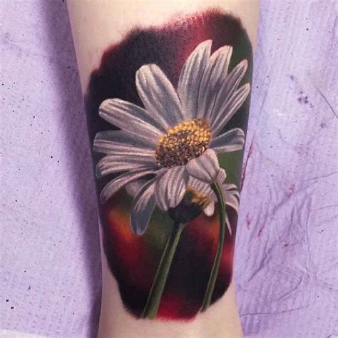 realistic flower tattoo realistic flower