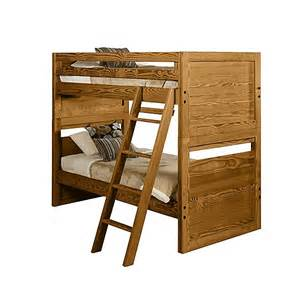 Cargo Furniture Bunk Beds The Official This End Up Classic Solid End Convertible Bunk Bed