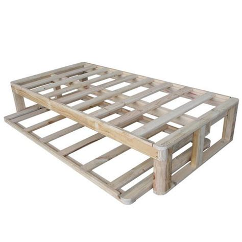 Diy Twin Bed Frame With Drawers Woodworking Projects Plans Trundle Bed Frame Plans