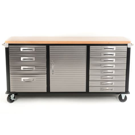 rolling garage storage cabinet buy 72 inch timber top roll cabinet rolling garage storage