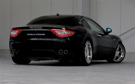 Maserati Big Black Maserati Granturismo 2011 Wheelsandmore Widescreen