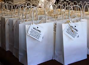 hotel gift bags for wedding guests