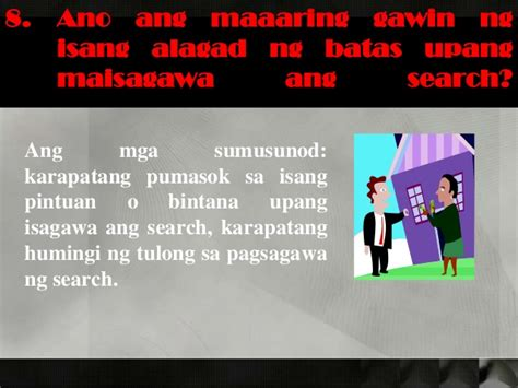 Ano Ang Search Warrant Arrest Search