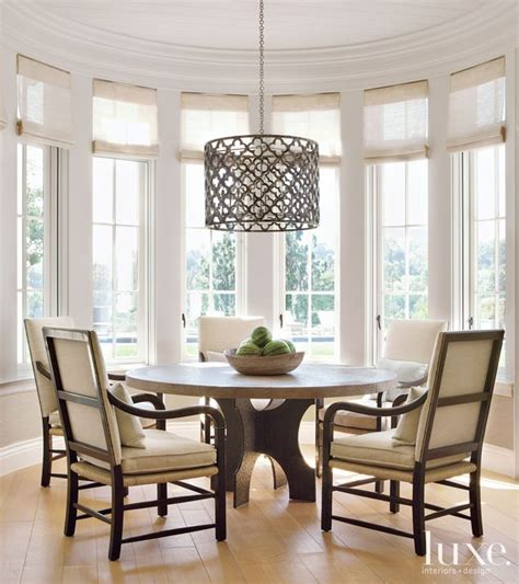 Breakfast Nook Chandelier This Pendant By Ironies Hangs Above A Gregorius Pineo Table Which Anchors The Breakfast