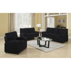 Microfiber Living Room Chairs 525 00 Buchannan 3 Microfiber Living Room Set Sofa Loveseat Chair Dealepic