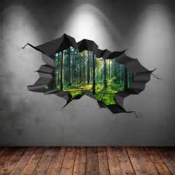 window forest trees wall stickers art decals mural wallpaper office decal rabbit sticker tree nursery