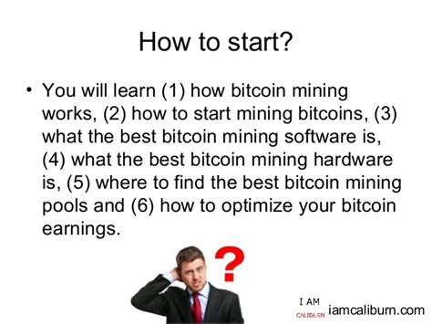 Top 5 Bitcoin Mining Software by Getting Started In Bitcoin Mining