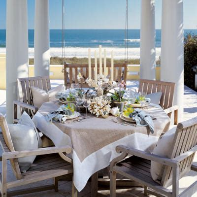 coastal home decorating ideas tables sets beaches house decor beaches inspiration