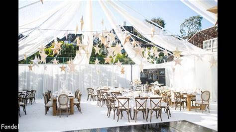 diy wedding tent decorating ideas