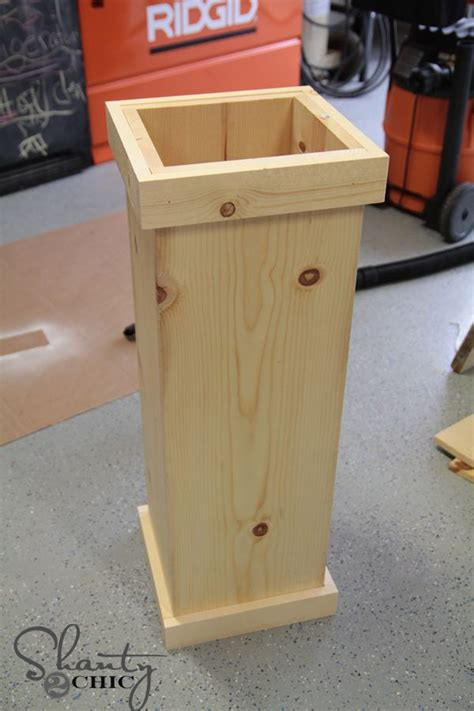 diy  christmas tree plant stand wooden plant stands