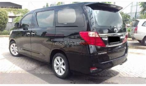kaos mobil alphard hitam 2012 toyota alphard g atpm hitam facelift