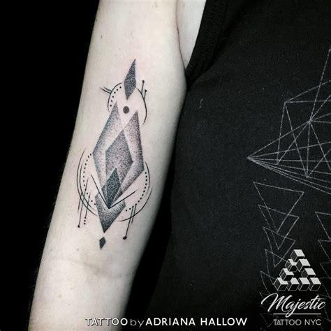 geometric tattoos nyc tattoos by hallow majestic nyc