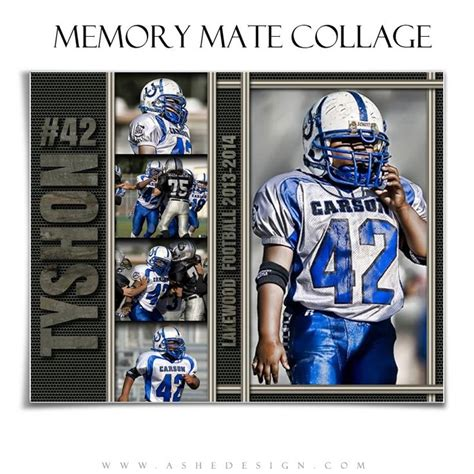 memory mate templates for photoshop sports memory mates iron works 8x10 ashe design