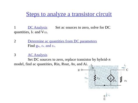 bjt transistor notes transistor lifier notes 28 images 1 bjt bipolar junction transistor transistor common