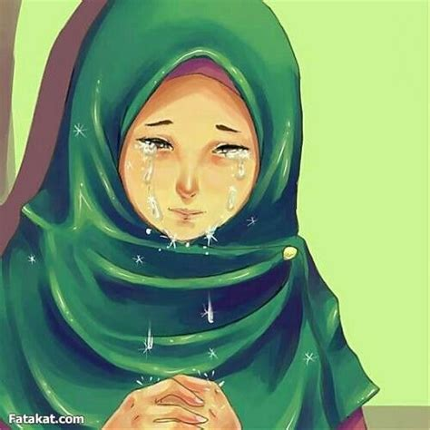 anime islam hijab anime muslima mohajabbah islam cartoon crying dua