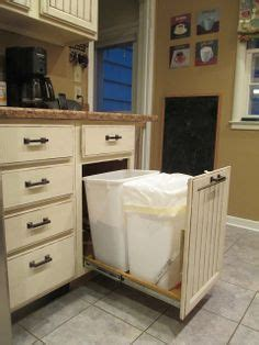 1000 ideas about trash can cabinet on trash