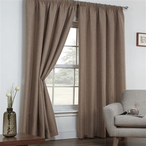 linen panel drapes textured woven linen look thermal blackout curtain panels