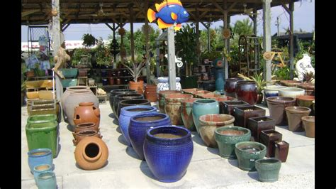 ceramic garden pots  large ceramic pots outdoors youtube