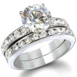 silver wedding ring sets sterling silver wedding ring sets for 9