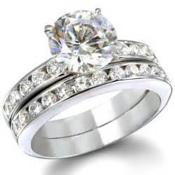 silver wedding ring sets wedding sets wedding sets in silver