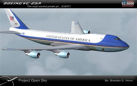 air one boeing vc 25a boeing vc 25a update for fsx