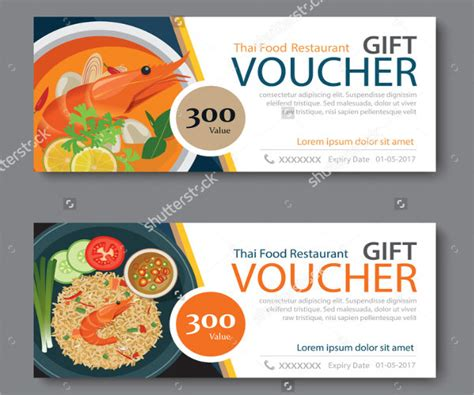 free meal coupon template 12 food voucher templates psd vector ai eps free
