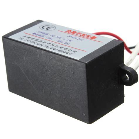 Ionizer Anion Generator Ion Generator Ion Negative dc 12v high output air ionizer airborne negative ion anion generator 42x25x21mm ebay