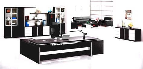 Modern Office Furniture Best Modern Office Furniture With Desk Work And Comfortable Chairs Goodhomez
