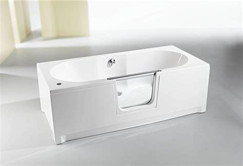 baignoire 224 porte saniku komfort le bain en position