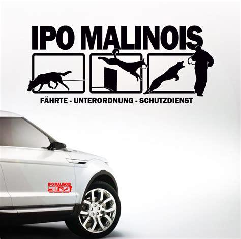 Aufkleber F R Auto Beagle by Auto Aufkleber Ipo Malinois Malinois Hunderassen