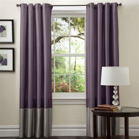 Gray And Purple Curtains Ideas with Purple And Grey Curtains For Bedroom Grey Curtains For Bedroom Editeestrela Design