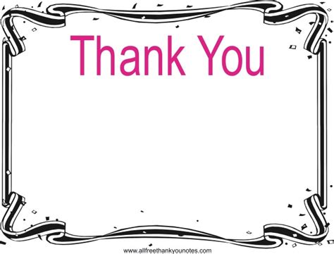 thank you note templates free all occasion thank you notes and thank you cards