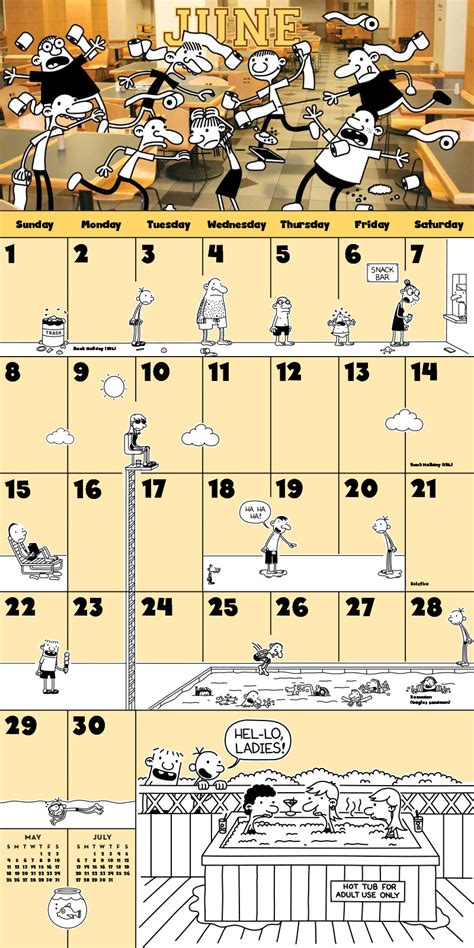 the wimpy kid 2018 calendar the wimpy kid 2014 wall calendar wimpy kid