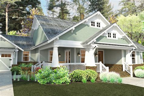 Craftsman House Plans With Detached Garage by Marvelous Craftsman House Plans With Detached Garage