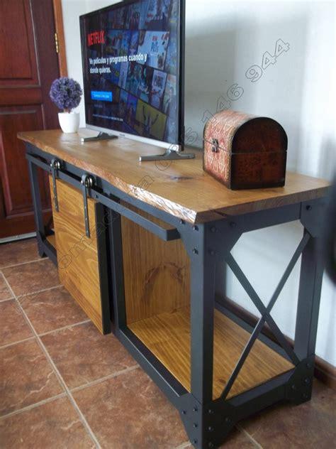 muebles hierro madera estilo industrial excelente calidad