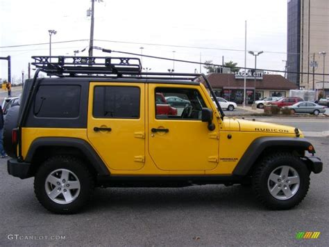 jeep rubicon yellow detonator yellow 2008 jeep wrangler unlimited rubicon 4x4