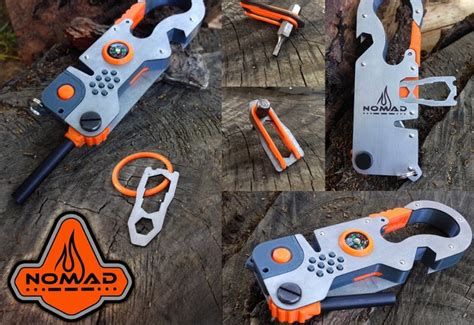 edc nomad survival multi tool geeky gadgets
