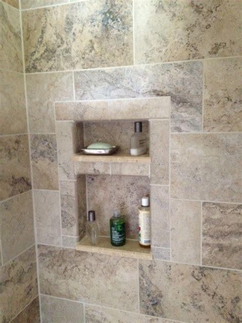 Bathroom Remodel Idea Tiled Shower Cutouts The Idea Book Pinterest Tile